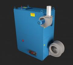 The Dr-30 heatgenerator from the producer