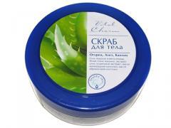 Body scrub of TM Vital Charm Cucumber, scarlet,