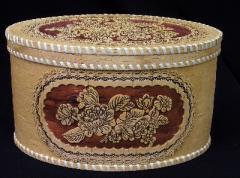Bread boxes wooden, Ukrainian souvenir