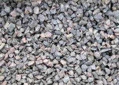 Crushed stone granite fractions: 3 * 10; 5 * 10; 5