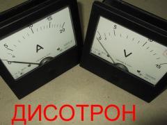 Ampermeter E365 Voltmeter