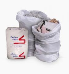 Plastic bags (capacity of 25 kg)