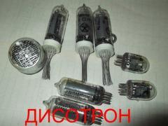 Indicator tubes IN-14, IN-16, IN-8, IN-8-2, IN-18