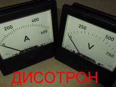 Ampermeter M381 Voltmeter