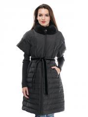 Купить женское пуховое пальто короткий рука(