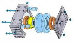 System of wheel DRS blocks
