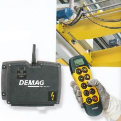 Radio control of DRC-MP of production Demag