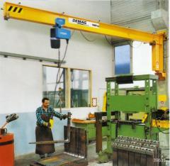 Wall rotary D-GW crane