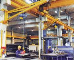 KVK wall rotary crane