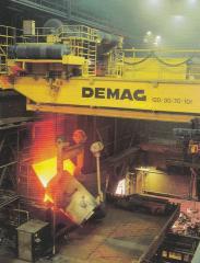 Foundry Demag cranes