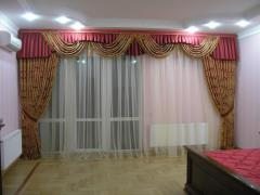 Curtains (040) are vintage design