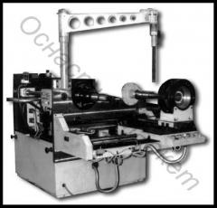 The machine for retraction of windings of the