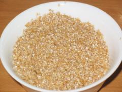 Wheat groats