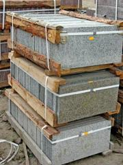 Granite tile for degrees in Ukraine. The producer