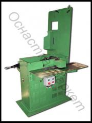 The machine for production of grooving wedges of