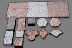 Decorative tile and decorative elements from