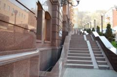 Granite steps in Ukraine from the producer of