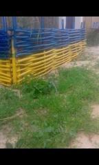 Плетень,Декоративный забор с Орешника(лещины)90грн