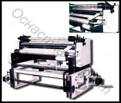 The machine for cutting of isolation of PMI-1200.