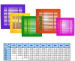 Решетка вентиляционная линейная РВЛ