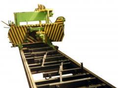 Линия для производства клееного бруса ВСГ-1200
