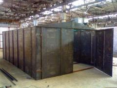 Garage metal folding