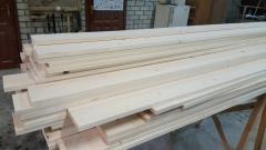 Bar construction coniferous breeds