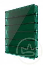 Сотовый поликарбонат 8мм ТИТАН зеленый