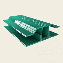 Сполучний профіль АПЗ 10мм Solidprof зелений