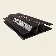 Solidprof mm APZ 6 connecting profile bronze