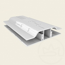 Сполучний профіль АПЗ 6мм Solidprof білий