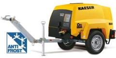 Передвижные компрессоры KAESER с дизельным двигателем серии MOBILAIR M 20 – M 100 и с запатентованной защитой от обледенения Anti-Frost