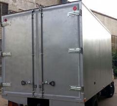 Cars cargo vans isothermal Hyundai HD78