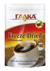 Kava the rozchinna of a subl_movan of Freeze-Dried