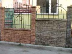 Заборы бетонные в Рожнах (Киев, Украина) заказать