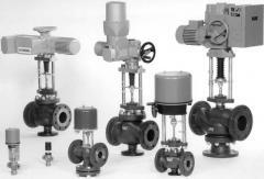 Adjusting valves of the series RV 210, RV 220, RV