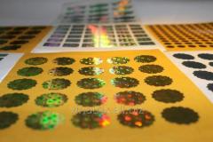 Holograms branding