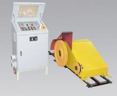 The rope machine of vertical cutting for a