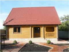 Дом деревянный под ключ