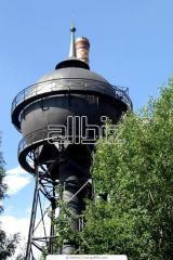 Water-pressure towers