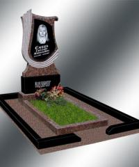 Production and installation of monuments from
