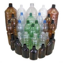 ПЭТ бутылка прессованная