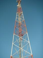 Башни и мачты мобильной связи различных
