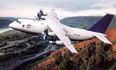 Cargo propeller aircraft