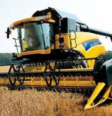 Комбайны New Holland серии CR