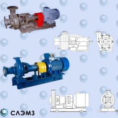Pump 2K-6, pump K 20/30 Ukraine, old markings of
