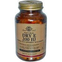 Vitamin E (dry), Solgar (Solgar), 200 ME, 100