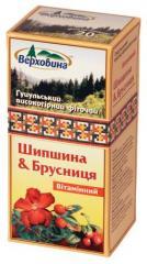 Фіточай Шипшина і Брусниця вітамінний Highland