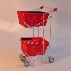 Carts on two WKR-1 baskets