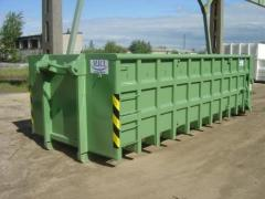 Containers roller for krupnokabaritny waste